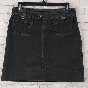 Patagonia Organic Cotton Corduroy Skirt 2 Gray